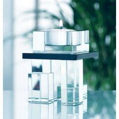 Galway Crystal - Deco Single Votive Holder 9.5cm.€24.95