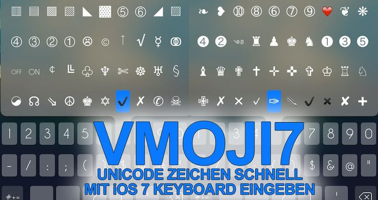 """Vmoji7: über 800 Emojis & Symbole direkt per iOS 7 Keyboard (Cydia) - http://apfeleimer.de/2014/02/vmoji7-ueber-800-emojis-symbole-direkt-per-ios-7-keyboard-cydia - Vmoji7, der Emoji / Unicode iOS 7 Tastatur-Tweak ist mittlerweile für Geräte mit iOS 7 Jailbreak verfügbar und ermöglicht eine schnelle Eingabe von hunderten Emojis und Unicode-Smileys direkt über das Keyboard in iOS 7. Für 2,99 US Dollar sicherlich kein """"günstiger"""" Cydia Tweak und ob..."""