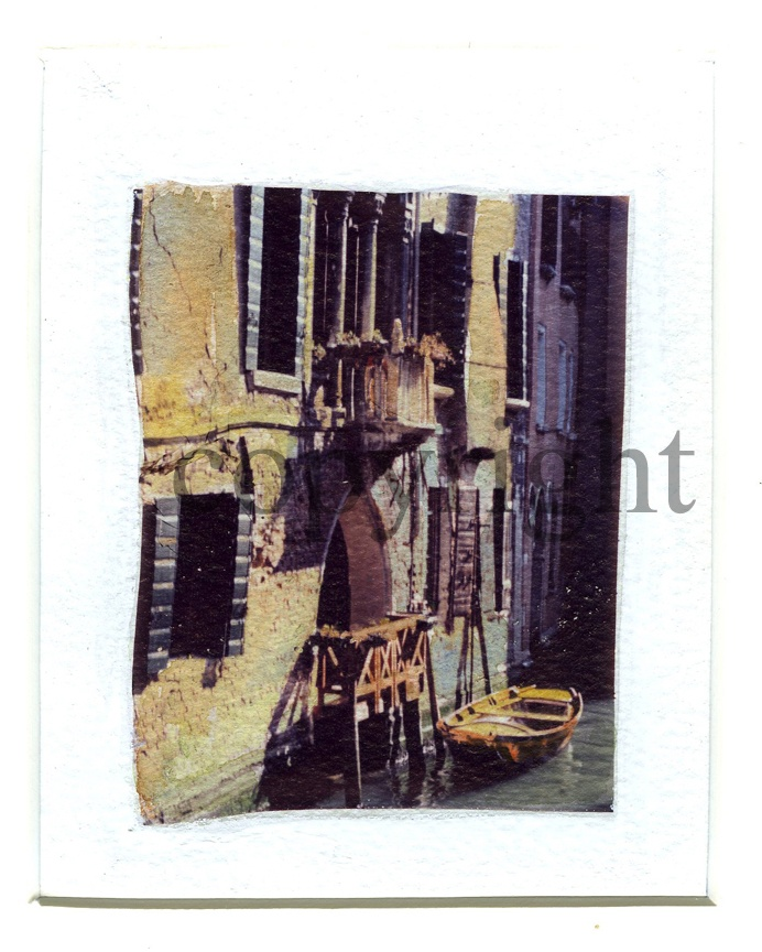 Polaroid Transfer by Silvana Robinson Venice