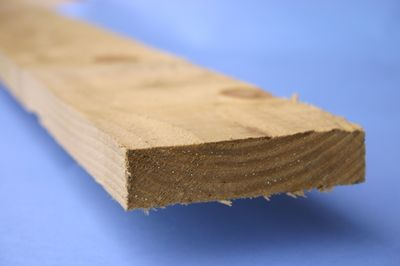 """Treated Rough Sawn Timber 100x22mm 4.2 Metre (4x1"""" 14ft)"""
