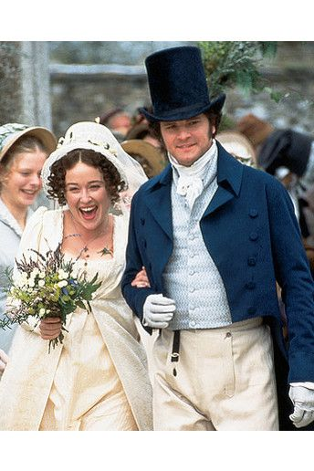 Pride and Prejudice- Darcy and Elizabeth. Much as I love Bridget Jones Diary they just dumbed down the relationship way too much, though I get it was loosely based on it but still.