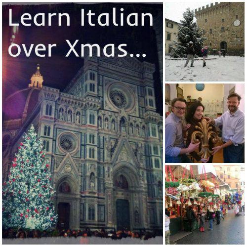 Learn Italian over the Christmas holidays