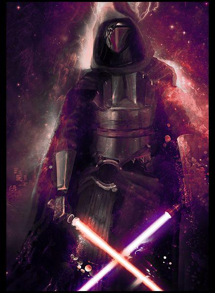 Darth Revan (the walker of both Light and Dark side)