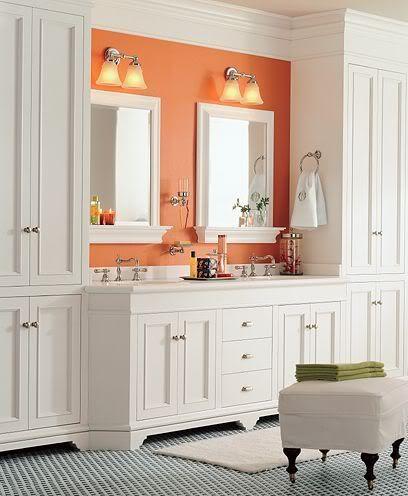 Best Bathroom Ideas Images On Pinterest Bathroom Organization - Full height bathroom cabinet for bathroom decor ideas