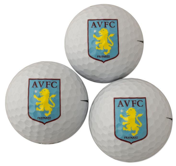 Golf balls aston villa golf ball gift pack click