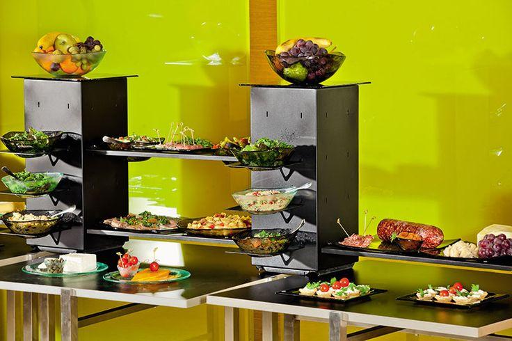 Executive lounge breakfast buffet