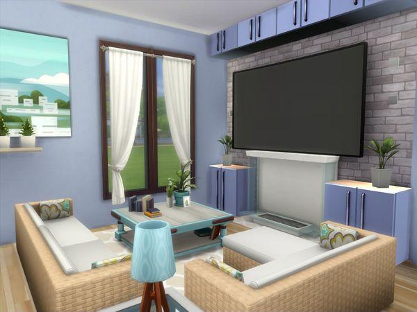 Lenabubbles82 S Sunville No Cc Sims House Living Room Sims 4 Sims House Design