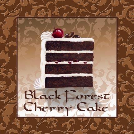 Black Forest Cherry Cake (Jennifer Huber)