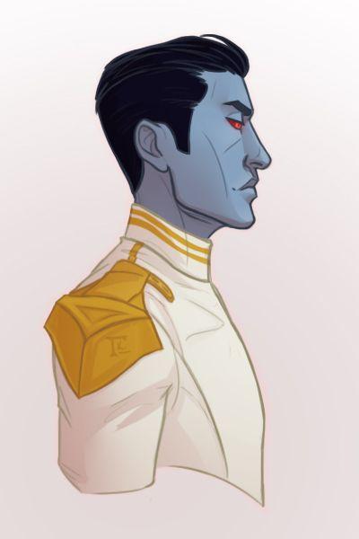 "gammatreis: "" My hand slipped: the Grand Admiral Thrawn edition """