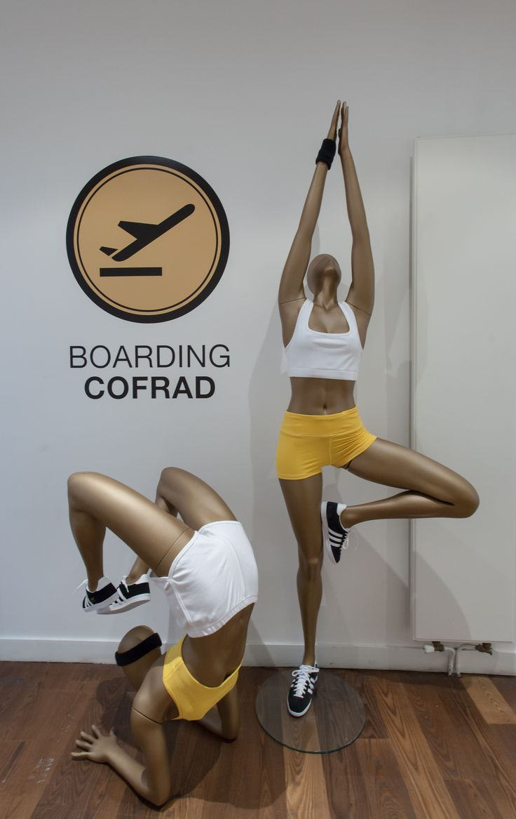 #Sport #mannequins Collection #Yoga #CofradMannequins