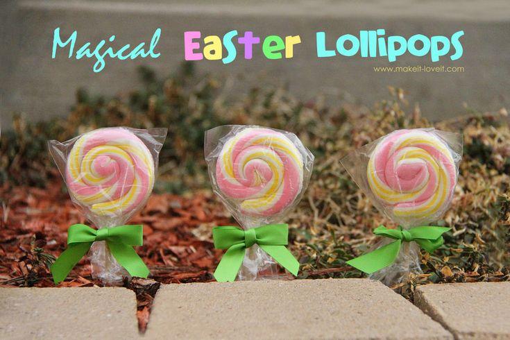 magical Easter lollipops