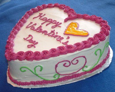 valentine's day cake boss