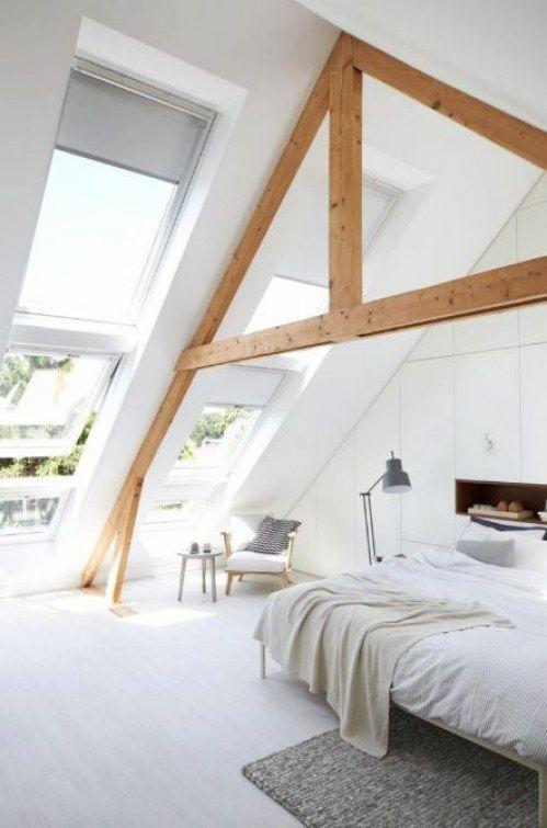 AuBergewohnlich Dachschrägen Im Schlafzimmer Gestalten