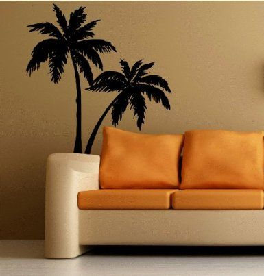 Wall Palm Trees Decal Large For Any Room Sticker Tropical
