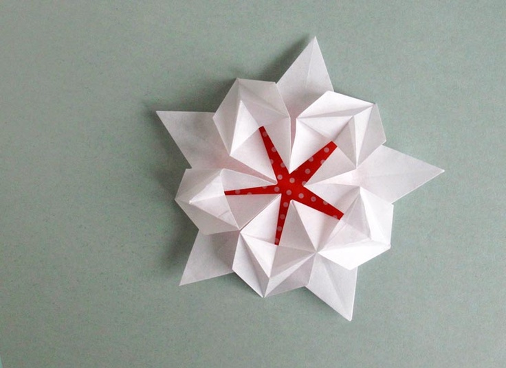 How to Make a Pentagonal Origami Star #origamistar #geometricorigami