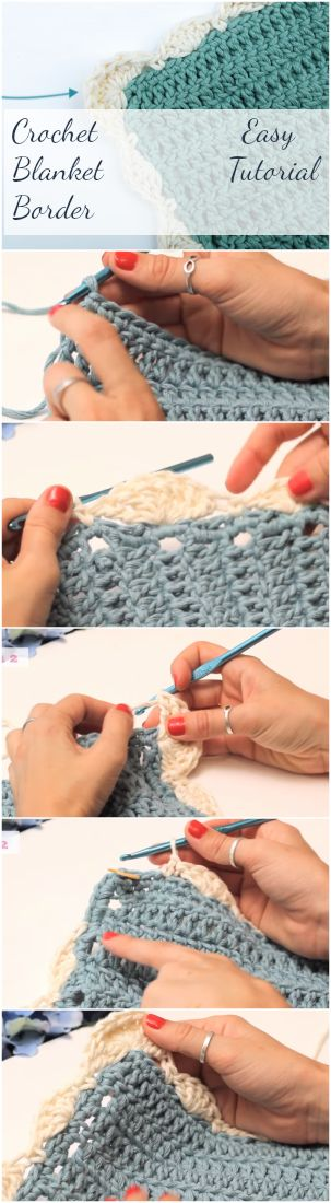 Learn to crochet an easy DIY stitch blanket border pattern by following step by step guide for beginners. Corner to corner is great for afghans and edges! | Crochet Blanket Free Pattern For Boy And Girl | Crochet Sweater | Crochet Patterns | Crochet Pullover | DIY Shawl Crochet Ideas | Crochet Tutorials For Beginners | Beginner Crochet Video Youtube | Crochet Stitches | Crochet Hats Scarf Scarves Beanie | Free Patterns | Unique Stitches Crochet Projects & Ideas | Simple Tutorials |