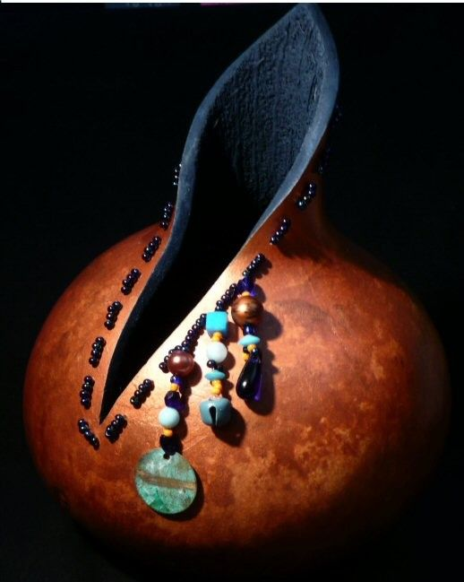 Spirit Herd Gourd Copper Penny by Kinaca on Etsy, $44.00