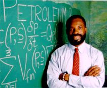 Philip Emeagwali is a Nigerian-born engineer and computer scientist/geologist who was one of two winners of the 1989 Gordon Bell Prize, a prize from the IEEE, for his use of a Connection Machine supercomputer to help analyze petroleum fields.
