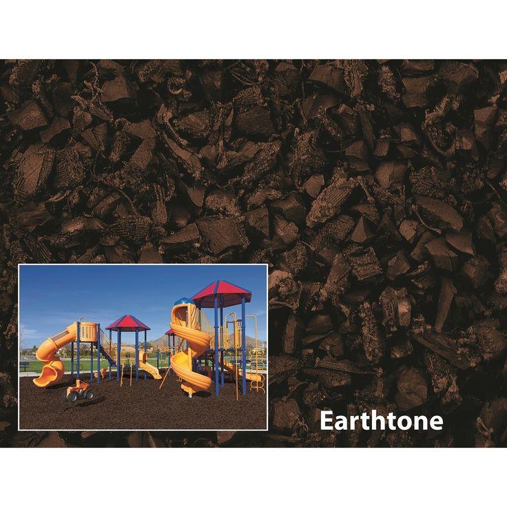 International NuPlay Earthtone Rubber Mulch 75 Cubic Foot Pallet