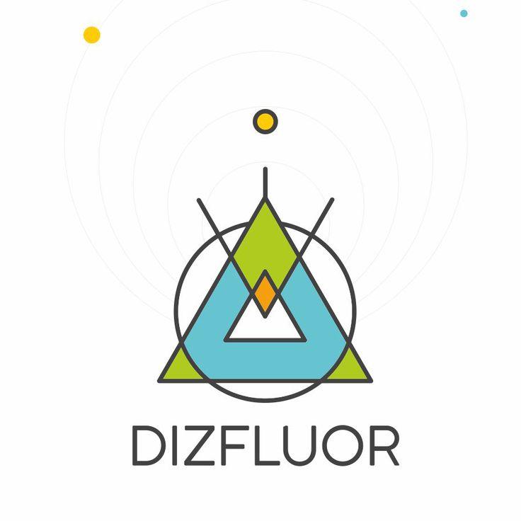 Персональный логотип Dizfluor