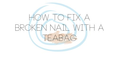 ***** Holly Arabella's UK Beauty Blog: How To Fix A Broken Nail With A Teabag. It works :) for a girl who breaks nails often, this is great - might need to keep these items in my purse. *****
