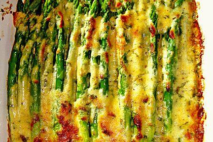 Albertos grüner Spargel mit Parmesancreme, ein raffiniertes Rezept aus der Kategorie Gemüse. Bewertungen: 360. Durchschnitt: Ø 4,4.