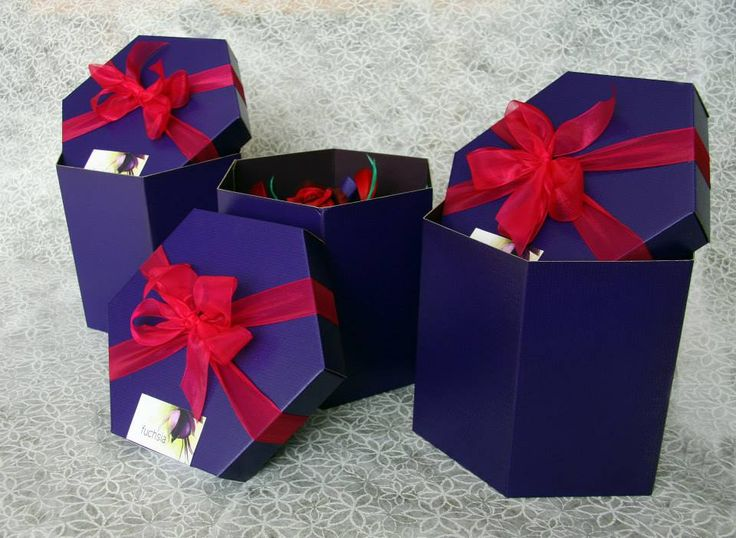 Boxed to perfection in true Fuchsia style