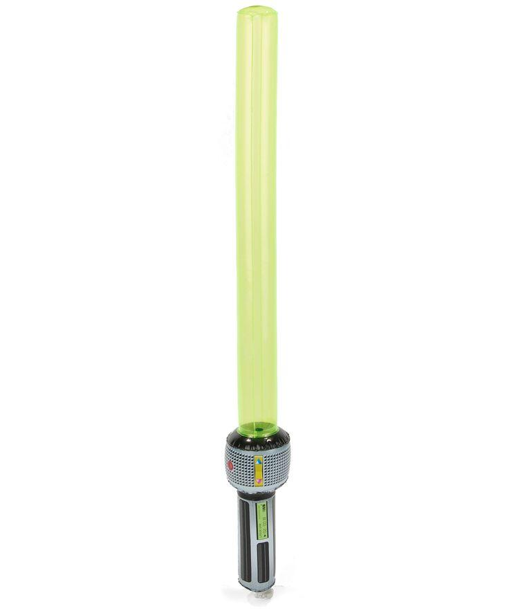 1 sabre laser gonflable : Ce sabre laser gonflable mesure 80 cm de long. Il sera parfait pour compléter votre déguisement de guerrier de l'espace.