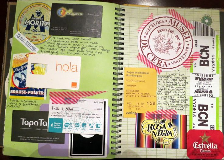 Do something like this when I travel to Australia in May?! Smash book