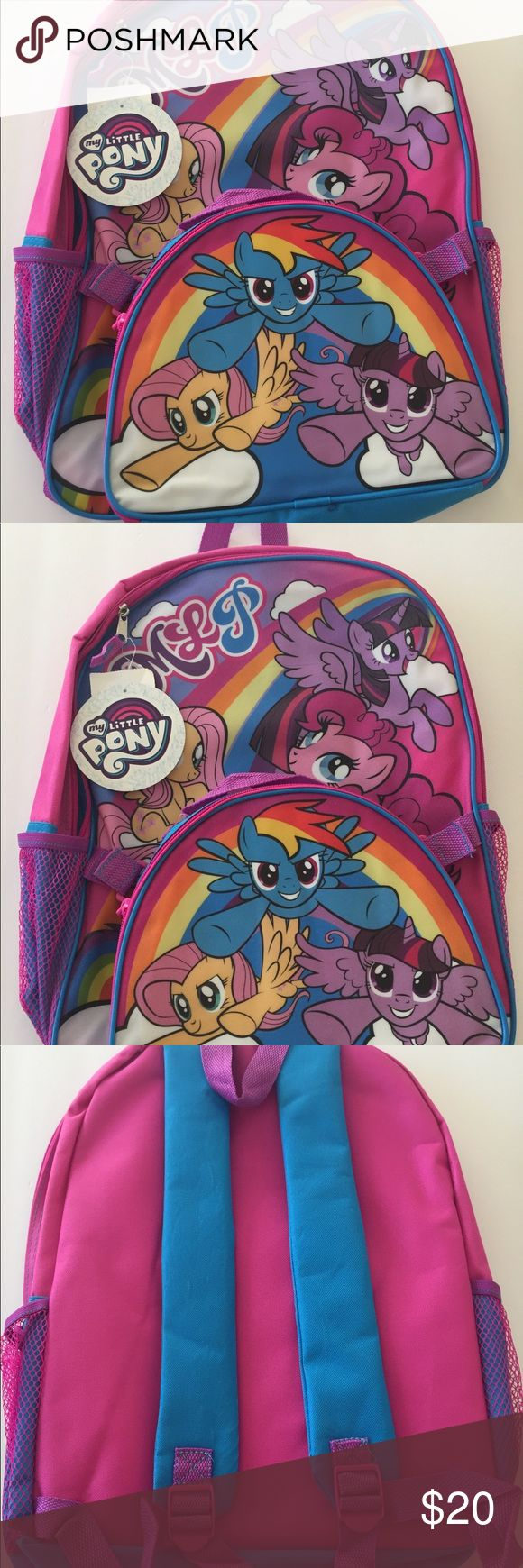 My Little Pony Girls Backpack Lunch Box Set NWT My Little Pony Girls School Backpack Lunch Box Set NWT My Little Pony Accessories Bags