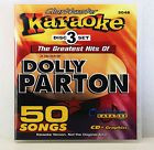 Karaoke CD+G Chartbuster 5048 Dolly Parton Greatest Hits Set Includes Song List - http://musical-instruments.goshoppins.com/karaoke/karaoke-cdg-chartbuster-5048-dolly-parton-greatest-hits-set-includes-song-list/