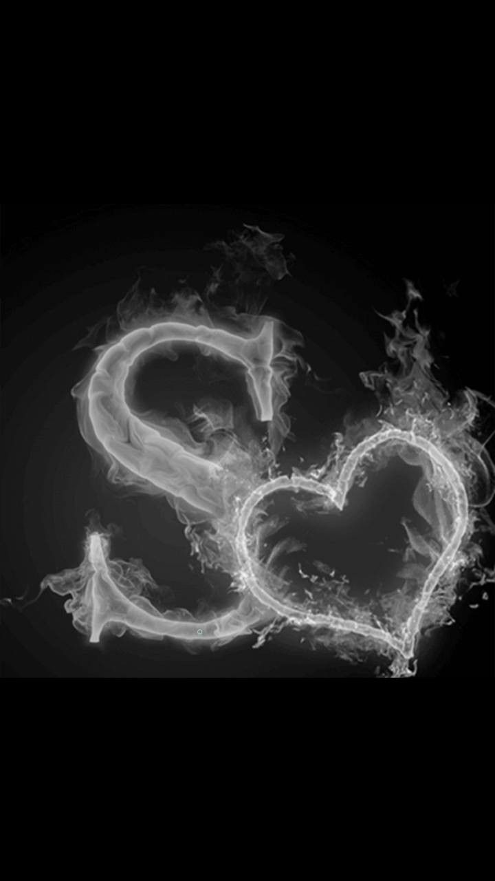 Letter S Black And White Wallpaper Love Wallpapers Romantic Love Wallpaper For Mobile S Love Images
