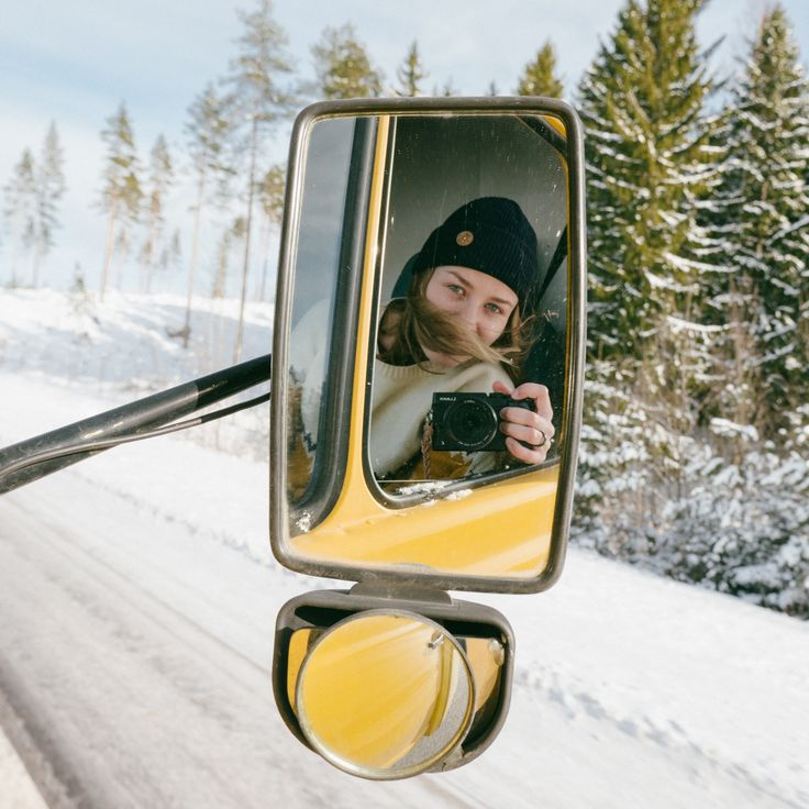 Vanlife Roadtrip in Lapland Finland. Ecological Black Timberjack beanie by VAI-KØ. Shop here!