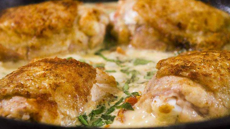 Creamy Chicken Milano With Sundried Tomatoes – Easy Meals with Video Recipes by Chef Joel Mielle