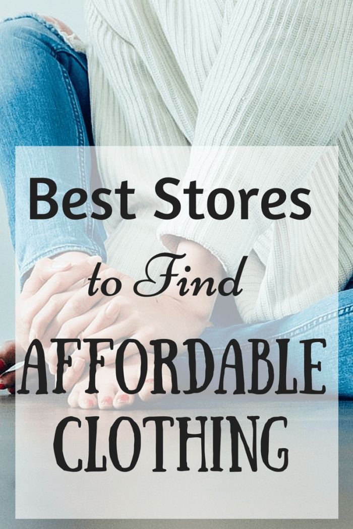 If you are on a budget, you definitely want to save money on clothing, check out this post on where to find good quality affordable clothes.   http://frametofreedom.com/best-affordable-clothing/