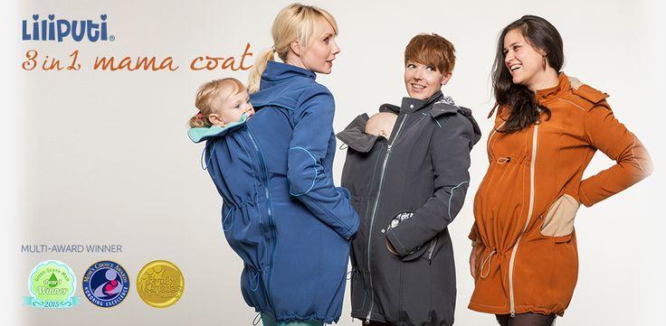 Brand New Mama Coat line!   http://www.liliputibabycarriers.com/babywearing-mama-coat