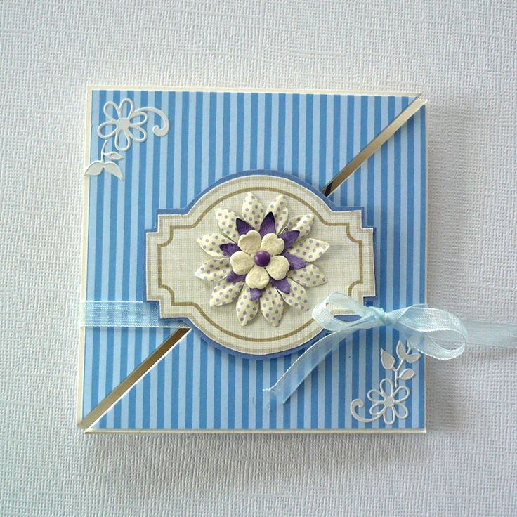 triangle trifold card