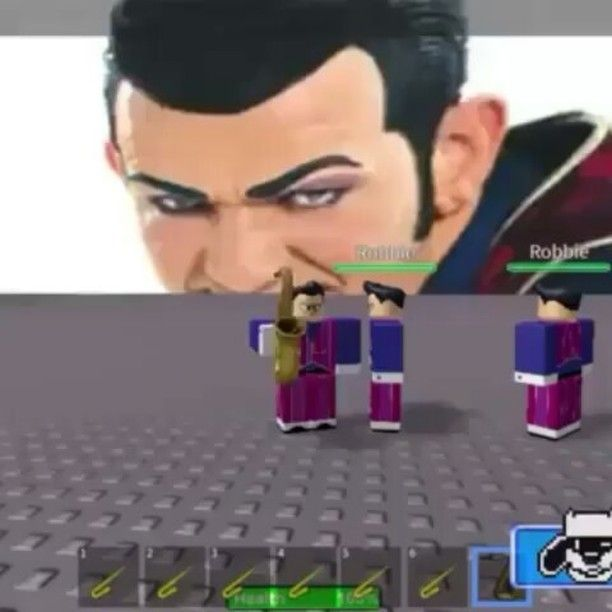 Robbie Rotten, we are number one villain lazy town roblox meme