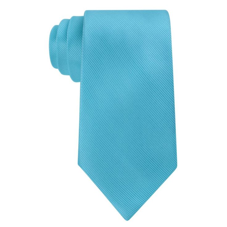 Big & Tall Croft & Barrow® Extra-Long Tie, Men's, Size: X Long, Turquoise/Blue (Turq/Aqua)