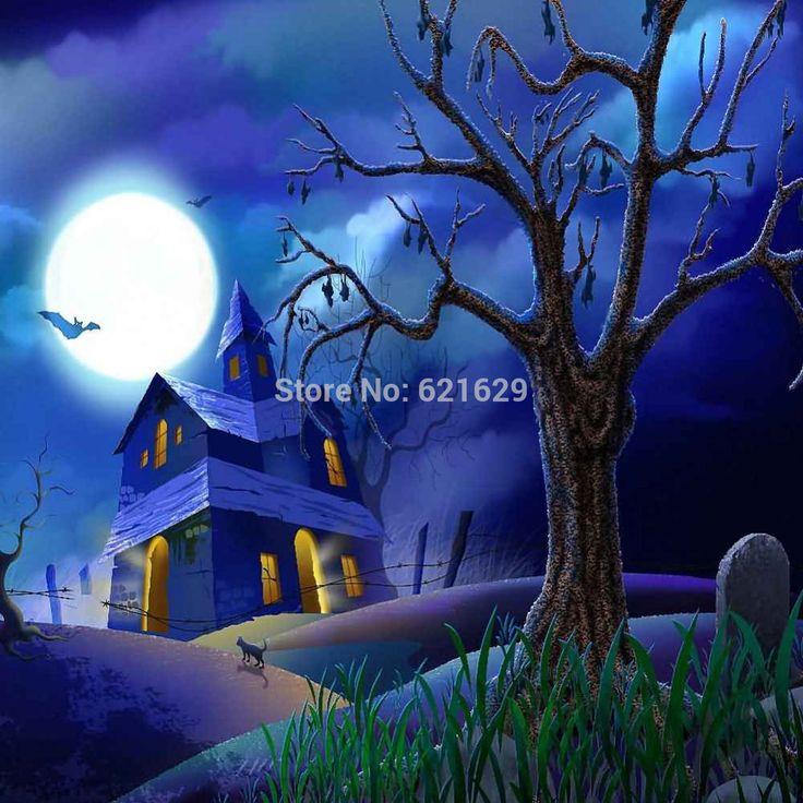 Тихая Ночь 10'x10 'ср Компьютерная роспись Scenic Фотография Фон Фотостудия Фон ZJZ-872