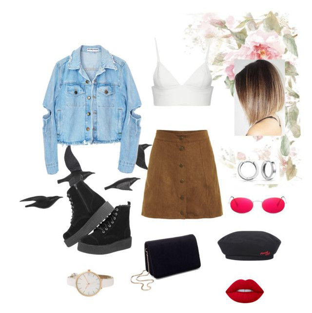 """""""Set #36"""" by jeongmina on Polyvore featuring Jayson Home, T By Alexander Wang, Bling Jewelry, Miss Selfridge and Lime Crime"""