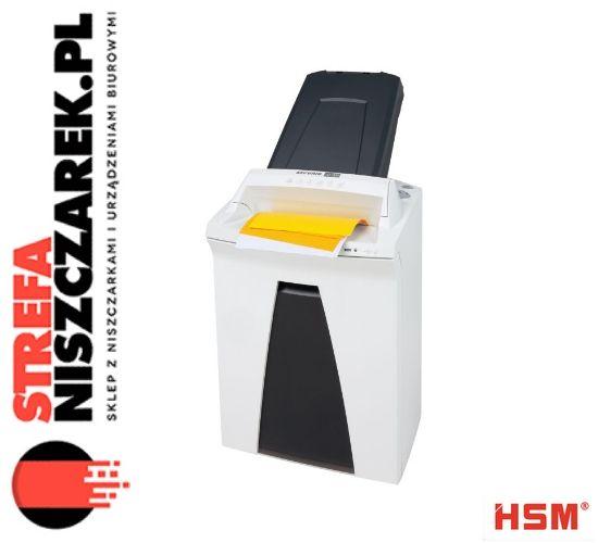 HSM SECURIO AF300  Łatwy i wygodny sposób na niszczenie danych w miejscu pracy. Niszczarka dokumentów z automatycznym podawaniem papieru i możliwością niszczenia dokumentów bez nadzoru dzięki blokadzie zabezpieczającej włożone stosy papieru przed nieupoważnionym dostępem.