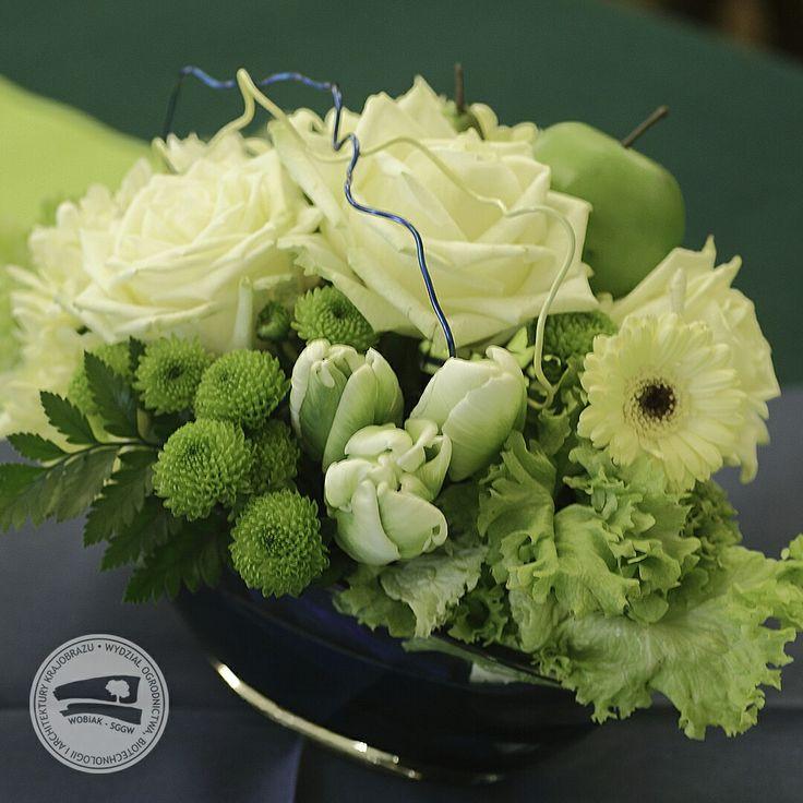 #florystyka #kompozycja #dekoracja #konferencja #wobiak #SGGW 🌼 #floristry #conference #decoration #ideas #WULS