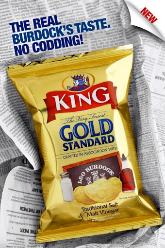 King Crisps - Traditional Salt & Malt Vinegar © David Cantwell Photography