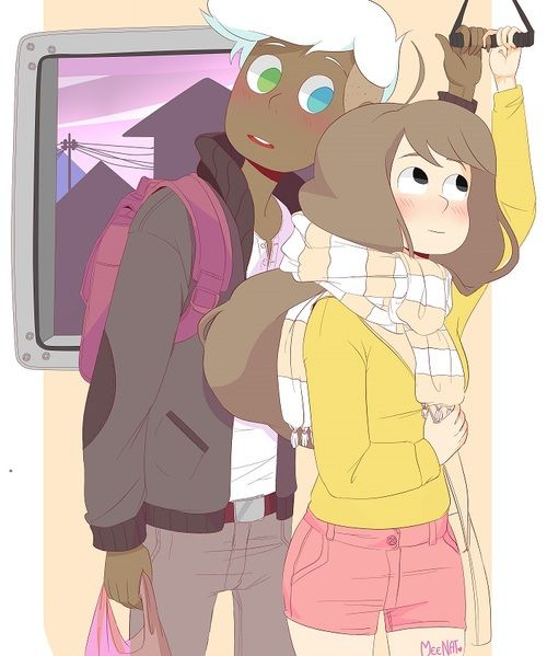 Bee and Puppycat fanart by Meenat on Tumblr