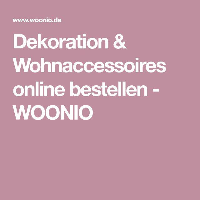 Dekoration & Wohnaccessoires online bestellen - WOONIO