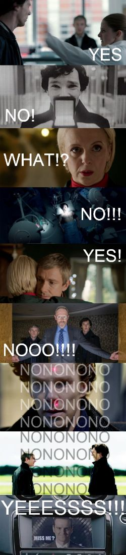 SHERLOCK!!! Season 3: His Last Vow - WHHHYYYYYYY?!?!!!?!?!