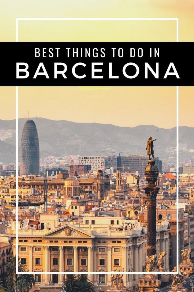 Top 10 Attractions In Barcelona With Photos Travel Spain