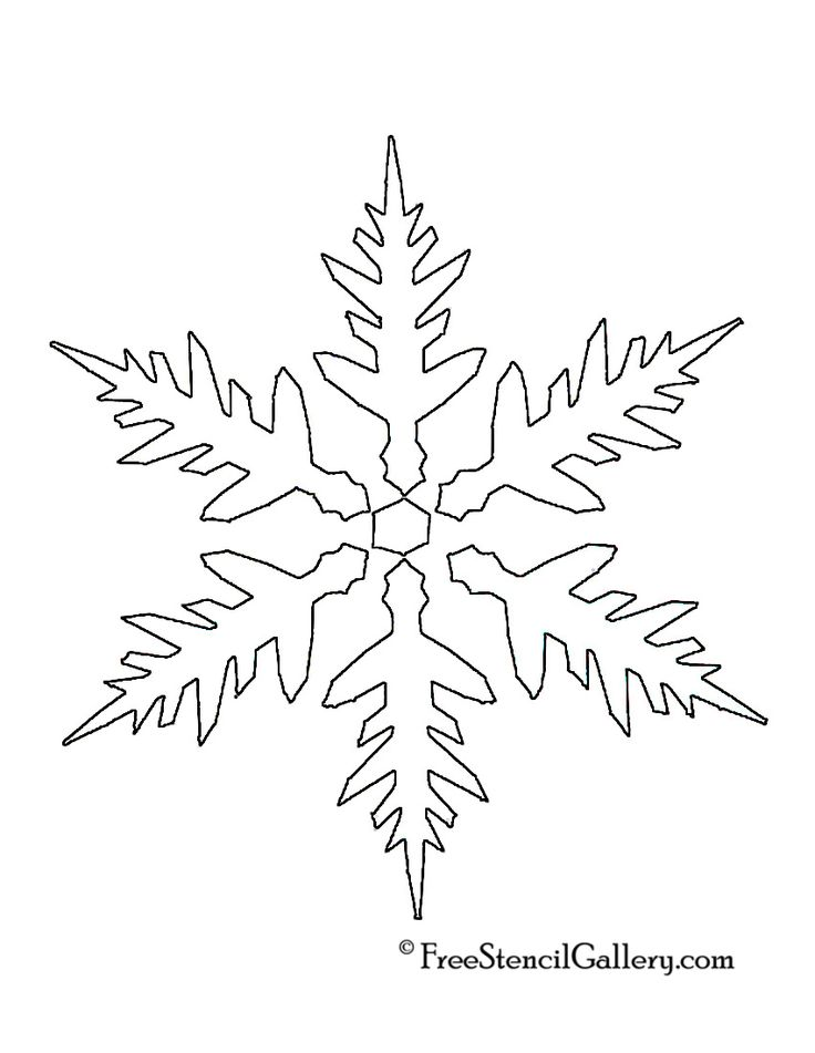 The 25+ best Snowflake stencil ideas on Pinterest ...