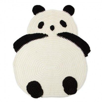 panda rug: Decor Ideas, Crafts Ideas, Crochet Pandas, Baby Blankets, Crochet Rugs, Pandas Rugs, Bedrooms Ideas, Rugs Diy, Crafty Ideas